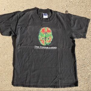 """""""The frontal lobes"""" 2000 vintage tee!"""